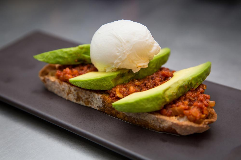 Chorizo avocado and egg - Loft St Albans Restaurant