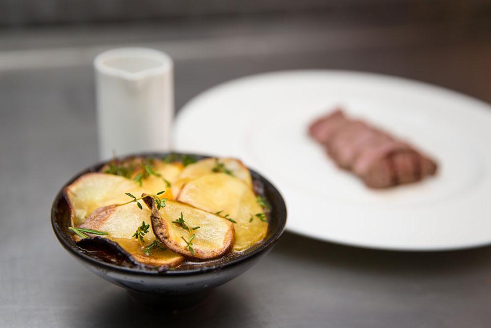 Lamb lancashire hotpot - Loft St Albans Restaurant