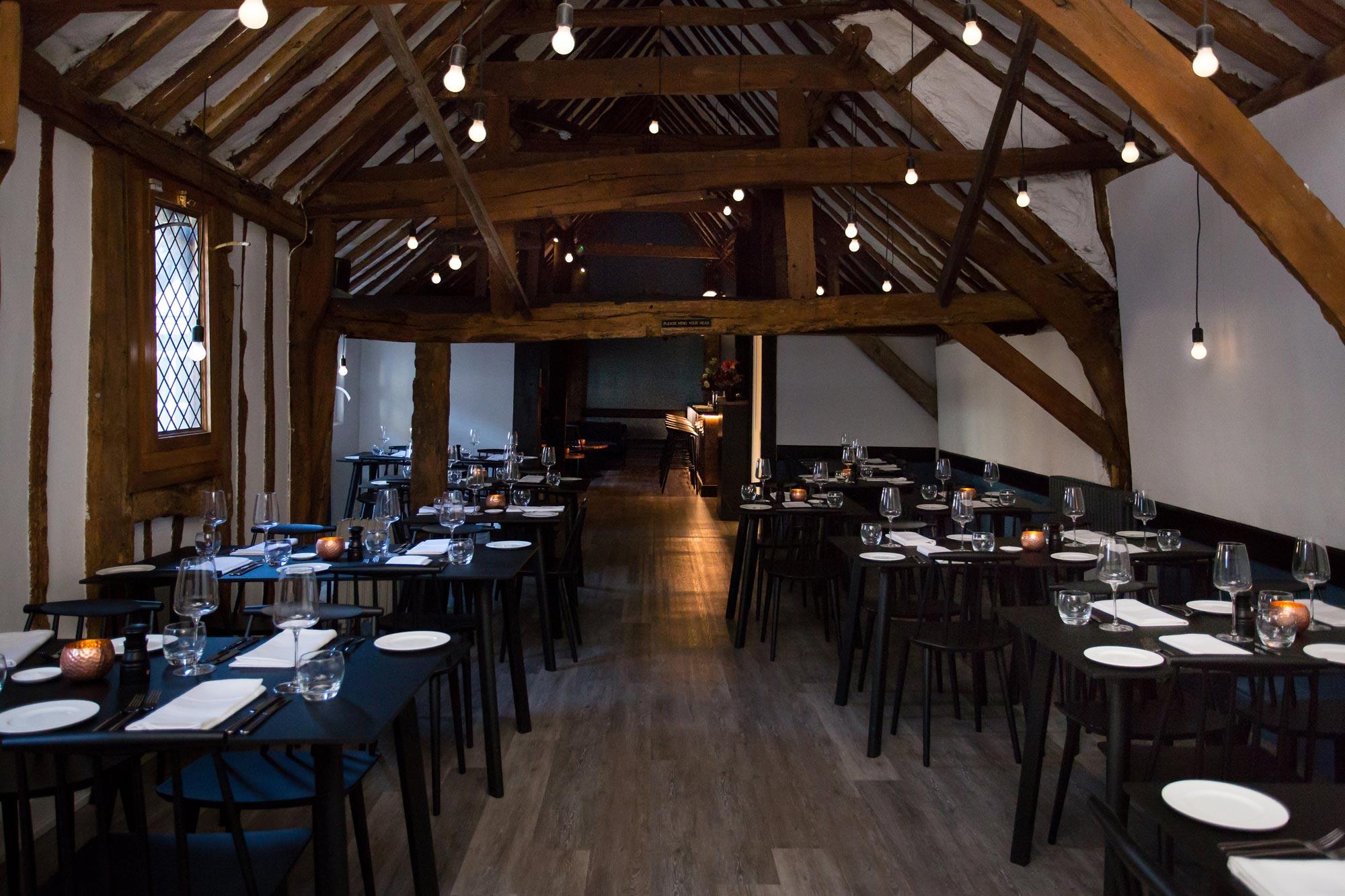 Loft St Albans restaurant interior