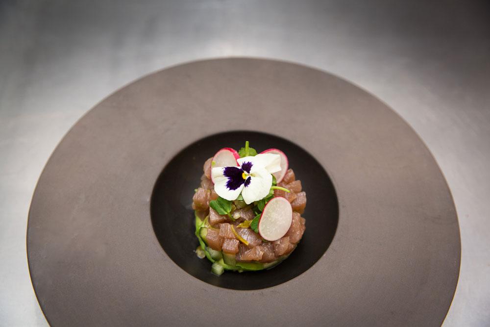 Tuna Tartare Loft Restaurant St Albans